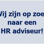 Op zoek naar een uitdaging als HR adviseur?