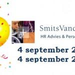 SmitsVandenBroek HR Advies & Personeelsdiensten viert haar 2-jarig bestaan!