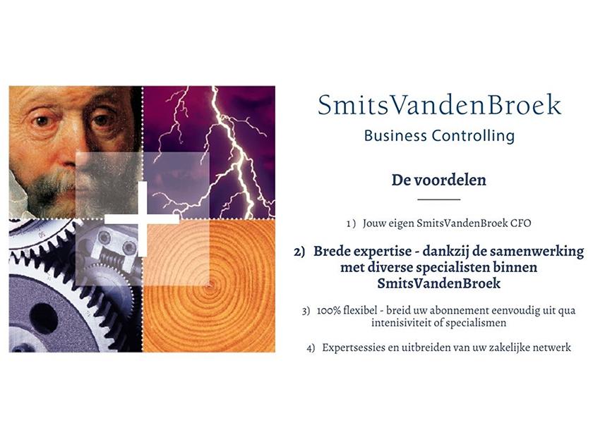 SmitsVandenBroek Business Controlling: Brede expertise