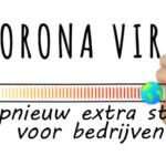 Nieuwsbrief Corona: opnieuw extra steun voor bedrijven